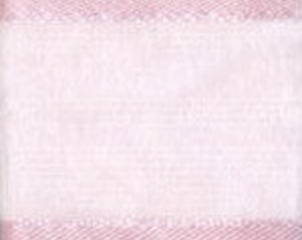"""CLEARANCE! - 5/8"""" Morex Delight Ribbon - Pink Sheer with a Satin Edge - 25 Yard Rolls - 7 Rolls Left!"""