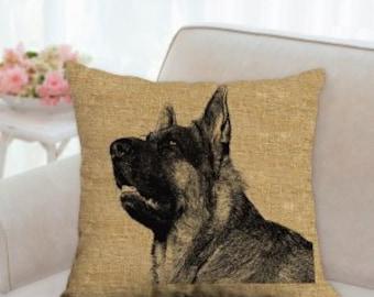 German Shepherd Dog Decorative Pillow
