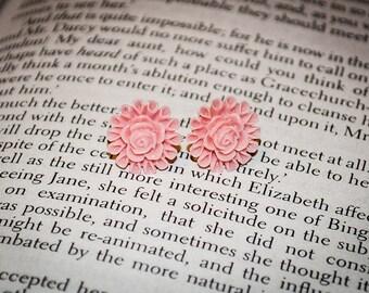 Jane Austen's Garden Sweet Roses Post Back Earrings