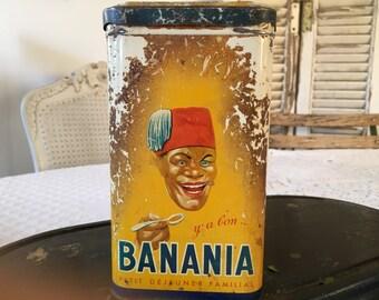 "Old box ""Banania""."