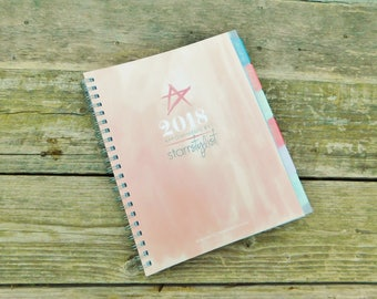 Starr Stylist 2018 Appointment and Accounting Book
