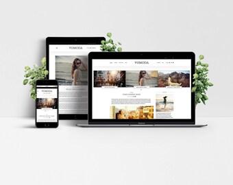 Vomoda WordPress Theme - Responsive Blog & Magazine Template