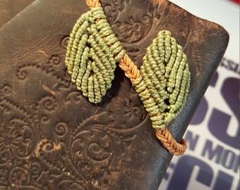 Braided Leaf Bracelet
