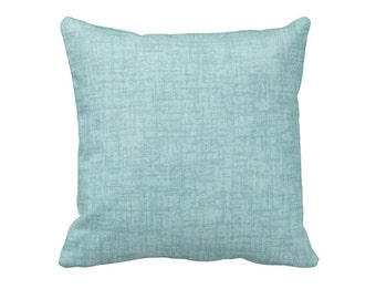 Light Blue Pillow Cover Solid Blue Pillows Blue Throw Pillows Sofa Decorative Pillows for Couch Blue Accent Pillows Euro Pillow 20x20 Pillow