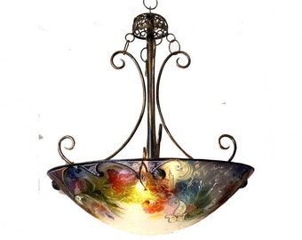 Chandelier/ Custom Chandelier / Ceiling Light / Dining Room Chandelier