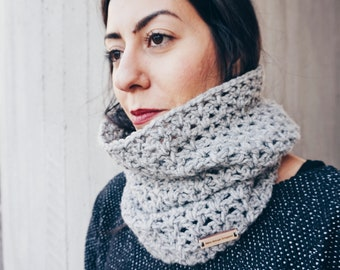 Crochet PATTERN- The Norton Cowl- Crochet Cowl Pattern