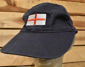 Vintage England Flag Hat
