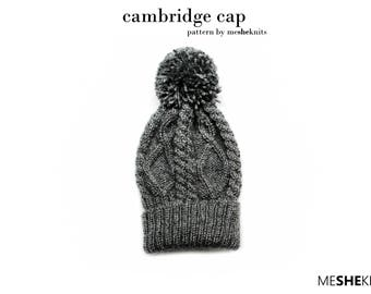 cambridge cap | handmade knitwear