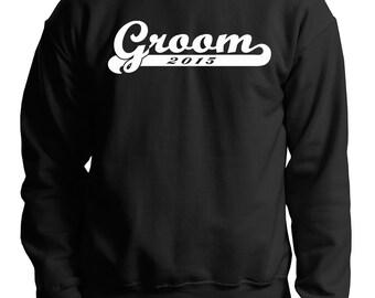 Groom 2015 Engagement wedding Sweater Groom Bachelor Party