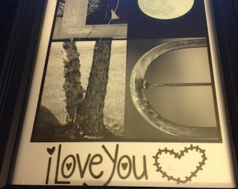 4x6 Love Photo Letter Art Print (unframed) - For that Special Someone you Love