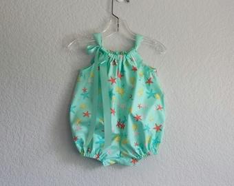 Girls Sunsuit Sewing Pattern Pillowcase Romper Infant