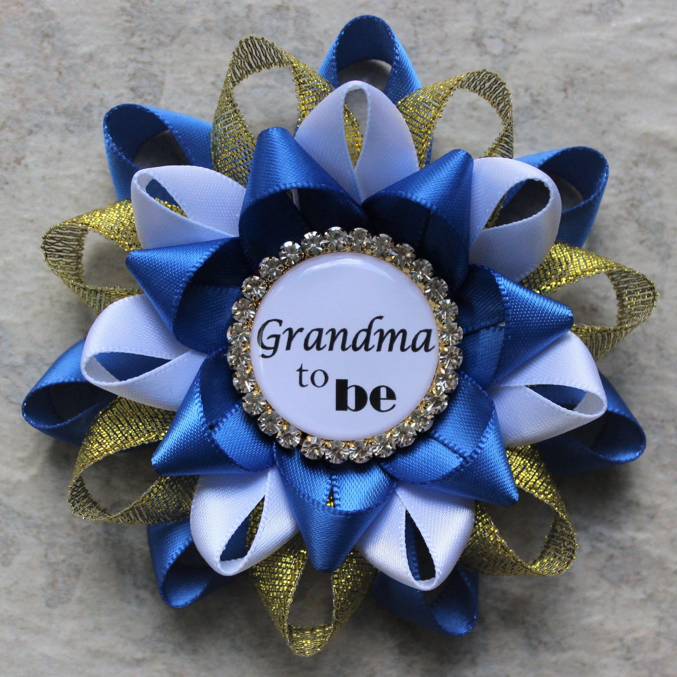 Royal Baby Shower Decorations, Little Prince Baby Shower Corsage ...