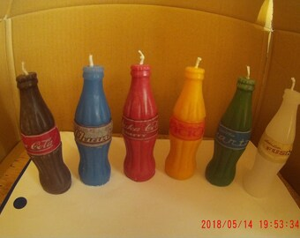 Full Set of Fallout Nuka Cola Candles