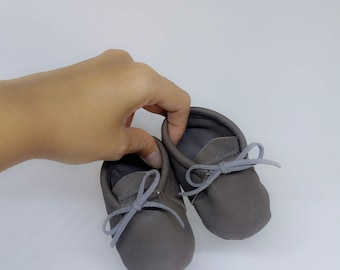 Baby brown shoes