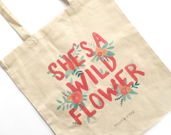 Eco Bag - Tote Bag - Eco Friendly Bag - Eco Friendly Gifts - Cotton Tote Bags - Reusable Grocery Bag - Grocery Bag - Bag for Women