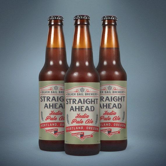 Printable Beer Label Oz Or Oz Custom Homebrew Bottle - Beer bottle label template
