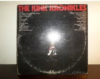 Vintage 1974 Vinyl LP Record The Kink Kronikles Very Good Condition The Kinks 8380