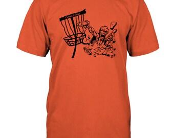 Disc Golfing Zombie T-Shirt