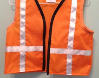 Construction worker vest or Emmet inspired vest and/or pants