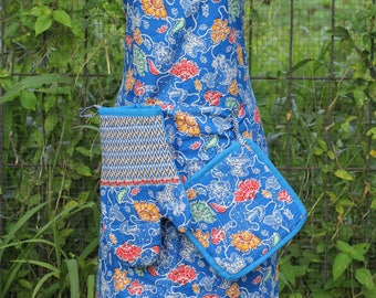 Apron Batik Handmade from Indonesia and its accessories
