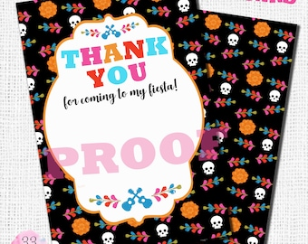Coco Thank You Cards - Digital or Printed Cards