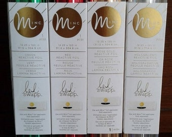 20% Off Flash Sale Heidi Swapp - MINC Collection - Reactive Foil - Choose from 4 Colors