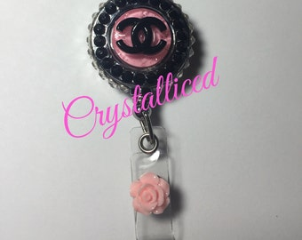 Pretty in pink Fabulous Id badge holder