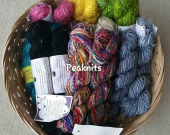 Banana Fiber Yarn - Handspun, Fair Trade, Bulky, 65 yards per hank, 100 grams, Darn Good Yarn, DGY
