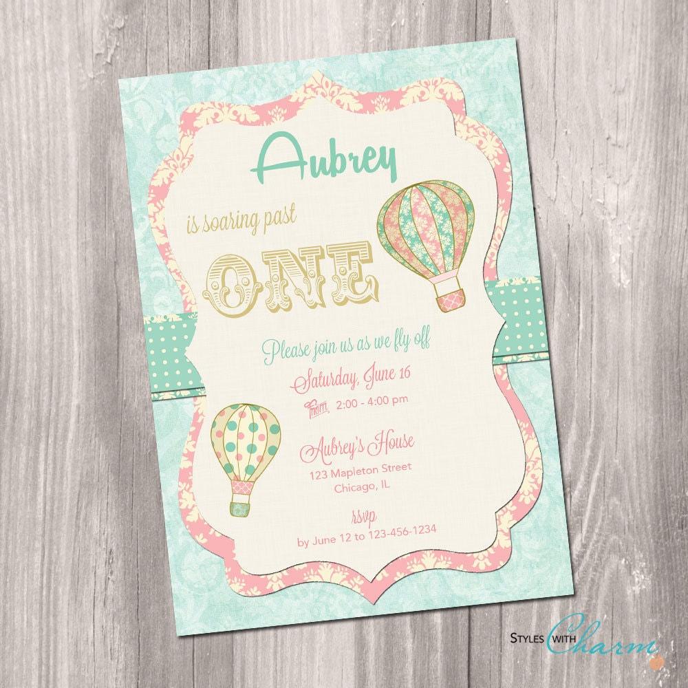balloon themed birthday party invitations - Kubre.euforic.co