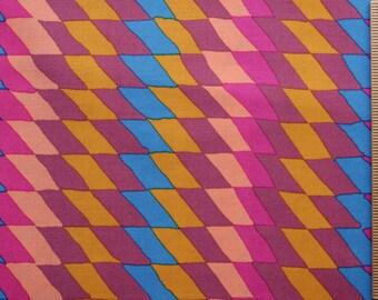 BM02 Pink Brandon Mably Ripple fabric 100% Cotton sewing quilting cotton fabric by the yard chevron stripe rowan westminster orange purple