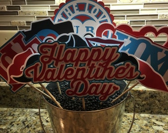 Valentine's Day Photo Booth Props - huge set of 13