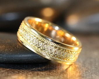 Mens wedding rings Etsy