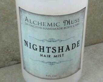 Nightshade - Hair Mist - Detangler & Styling Primer - Bulgarian Lavender, Madagascar Vanilla, Chocolate