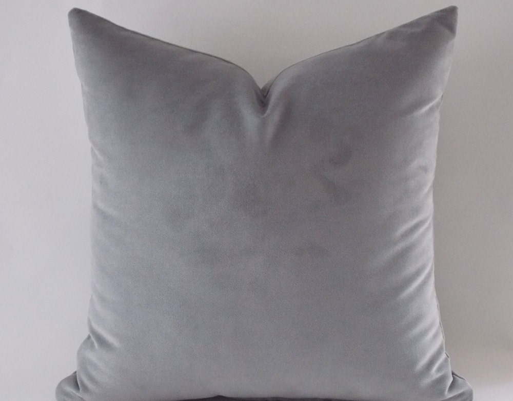 of kind a velvet set snowflake silver charming img grande gray products one pillow grey