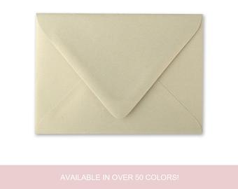 Wedding Invitation Envelopes, DIY Wedding Invitations, Invitation Envelopes, Metallic Paper, Wedding Supplies - MINIMUM ORDER 25