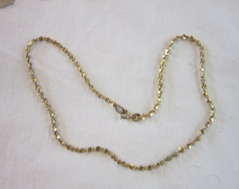 Vintage Outrageous Style Gold Filled Chain Necklace Must See Pretty Very Artsy