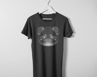 T-Shirt. Resonance. White Panda