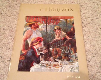 Vintage coffee table art book