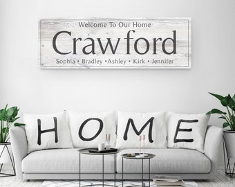 Large Wooden Texture Last Name Sign, Wood Texture Last Name Sign, Family Name Sign