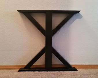Farmhouse Table Legs - Metal Table Legs - Dining Table Legs - Kitchen Table Legs