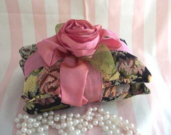Ribbon Ribbon Rose Pin Cushion Home Decor Tapestry