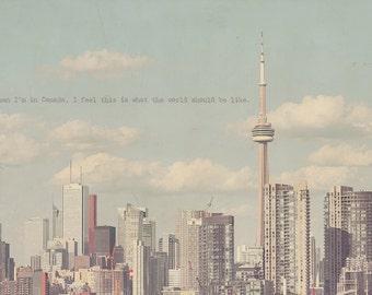 Toronto Photography, Toronto Photo, Toronto Art Print, Toronto Fine Art, Cn Tower Toronto, Toronto Skyline, Cn Tower Photo, Cn Tower Art