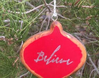 Primitive Wood Christmas Ornaments