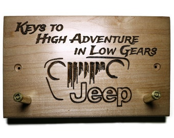 Jeep Keychain Holder - Keys to High Adventures