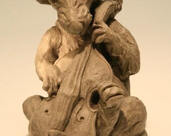 Rodent Cellist