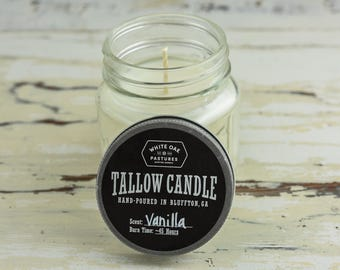 Grassfed Tallow Candle - Scented