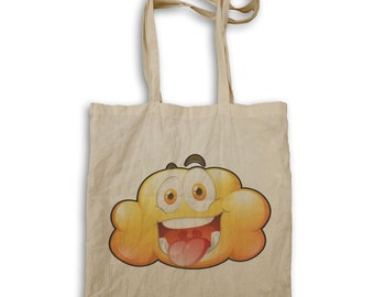 Yellow clouds Smiley Fun Tote bag u499r