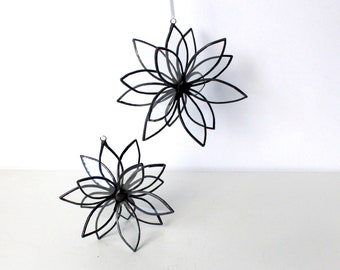 Modern 3D Glass Flower -Stained Glass Suncatcher - Mother's Day - All Occassion Gift