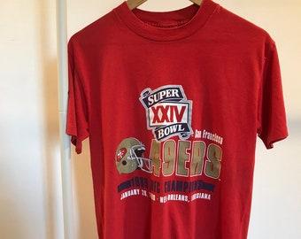 Vintage San Francisco 49ers Tee Shirt