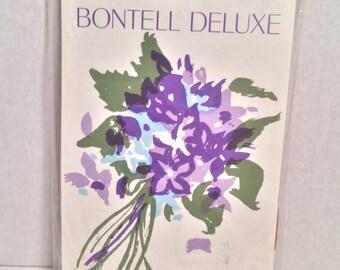 Vintage Hosiery BONWIT TELLER Nylon Pantyhose NOS Bontell Deluxe // Rose Mallow